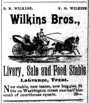 Wilkins Brothers Ad