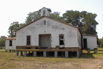 Connersville Primitive Baptist Church before restoration